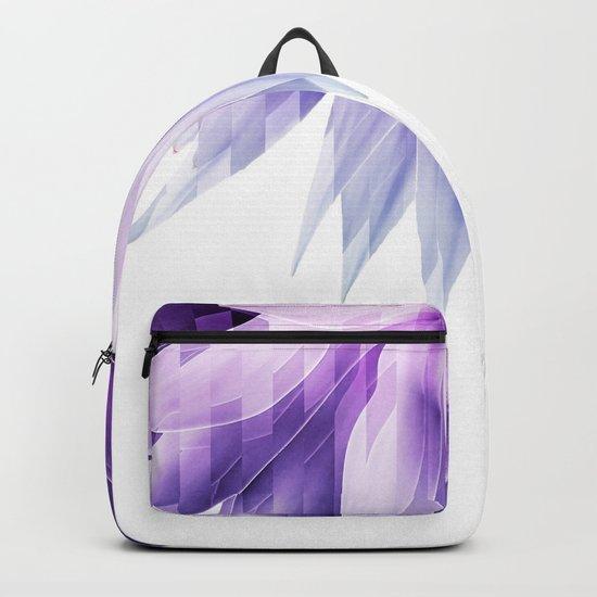 Agave geo fringe - amethyst Backpack