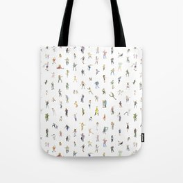 How Do You Dance? by Thyra Heder Tote Bag