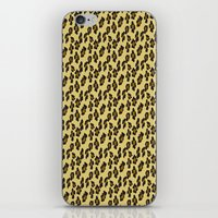 leopard iPhone & iPod Skins featuring Leopard by Lena Photo Art