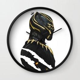BLACK PANTHER X KING MUZE Wall Clock