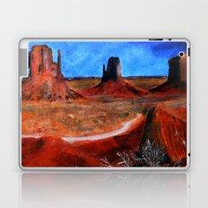 Utah Landscape Acrylic Painting Laptop & iPad Skin