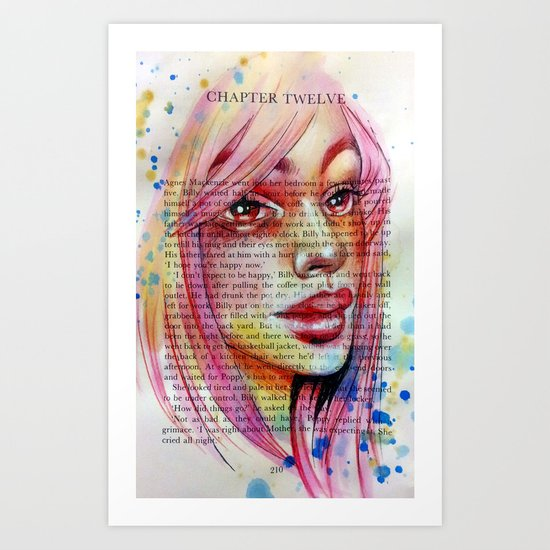 Eight O'Clock Art Print