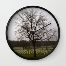 Lorraine American Cemetery and Memorial   St-Avold France Nr. 1 Wall Clock