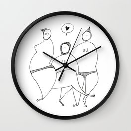 Ladiesnight Wall Clock