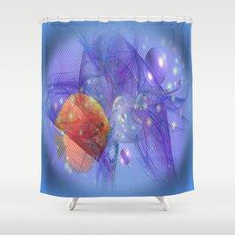 Fish world Shower Curtain