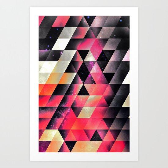 fyrlyrne fyyrth Art Print