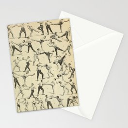 Antique Boxing Stationery Cards