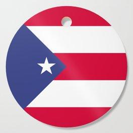 Puerto Rico flag emblem Cutting Board