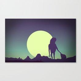 Honey-moon 2 Canvas Print
