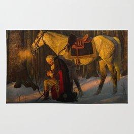 George Washington Praying Rug
