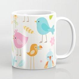 Birds - Off White Coffee Mug