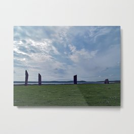 The Stones of Stenness Metal Print
