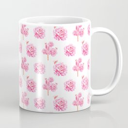 Rose Pop Pattern Coffee Mug