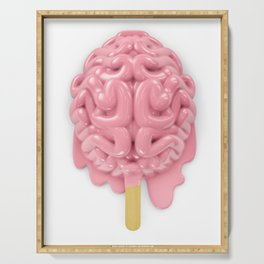 Popsicle brain melting Serving Tray