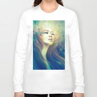 crown Long Sleeve T-shirts featuring Crown by Anna Dittmann