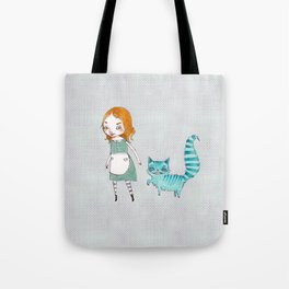 Alice and Chesh Tote Bag