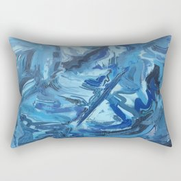 Is This What Artists Do? Rectangular Pillow