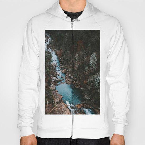 Blue Creek #landscape #society6 Hoody