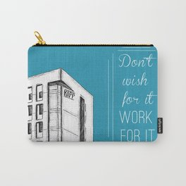 KIPP NYC Work for It Carry-All Pouch