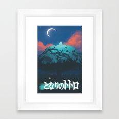 Ghibli print    Framed Art Print