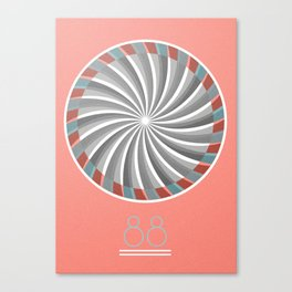 88 Canvas Print