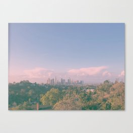 Dreaming of Los Angeles Canvas Print