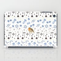 robin iPad Cases featuring Robin by Ornaart