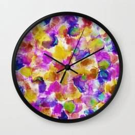 Amaris Yellow Wall Clock