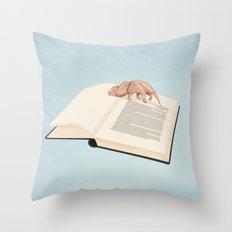 Bookaholic Throw Pillow