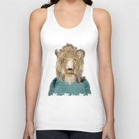 jeep Tank Tops featuring jeep the lion by bri.buckley