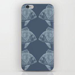 Blue Fish/es iPhone Skin