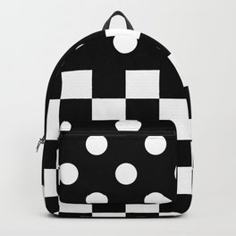 CONTRASTS (BLACK-WHITE) Backpack