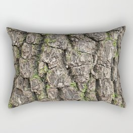 Ash tree bark  Rectangular Pillow