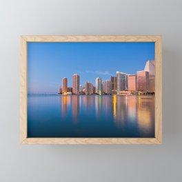 Miami 02 - USA Framed Mini Art Print