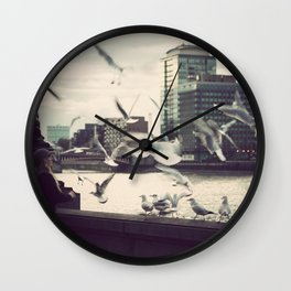 Pigeon Whisper    Wall Clock