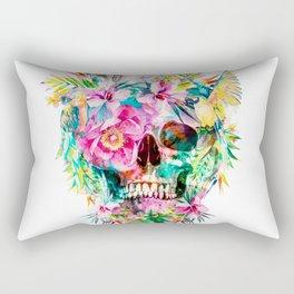Tropical Skull Rectangular Pillow