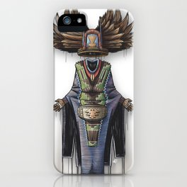 Crow Mother iPhone Case