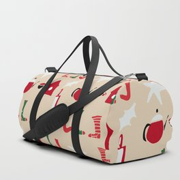 Christmas Cosy Ivory Duffle Bag