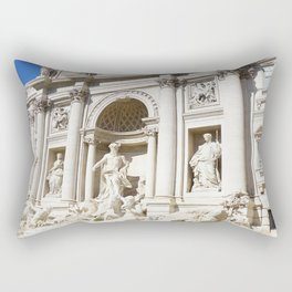 Make a Wish: Trevi Fountain in Rome, Italy Rectangular Pillow