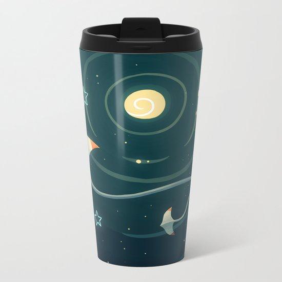 Space Ray Metal Travel Mug