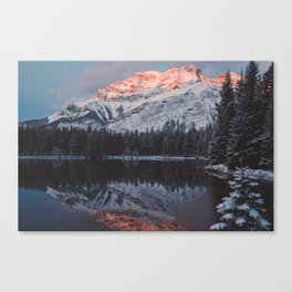 Mount Cascade Canvas Print