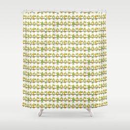 Birds_g Shower Curtain