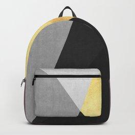 Geometric collage XVI Backpack