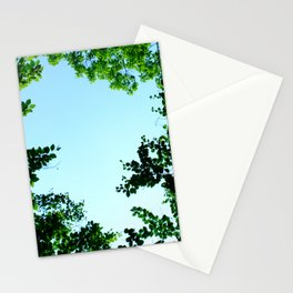 green border Stationery Cards