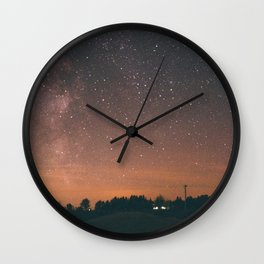 Starry Night I Wall Clock