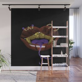 Snake Teeth Finesse Wall Mural