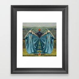 Waste Atlantic Framed Art Print