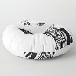 Speed Limit 45 Floor Pillow