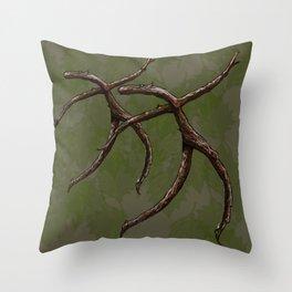 Stick Figure  Throw Pillow