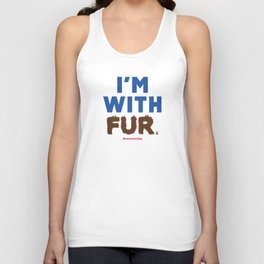 I'm With Fur Unisex Tank Top